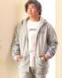 杢グレー:172cm67kg(XLサイズ着用)